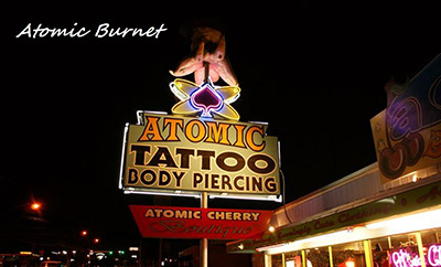Atomic Tattoo™ Tattoo & Body Piercing in Austin, Texas, Tattoo ...